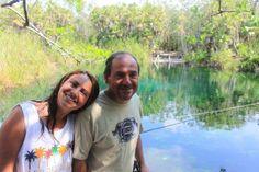 Cenote en Tulum, Quintana Roo, Mexico