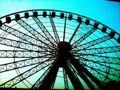 Sky Wheel. Myrtle Beach. Love this place!!! (my creative photo skills!!)