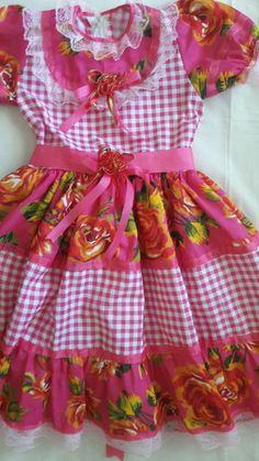 Vestidos de festas juninas Caipiras