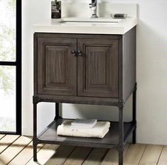 "Toledo  24"" Vanity 1401-24 from Fairmont Designs"