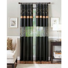 Better Homes and Gardens Prisma Curtain Panel
