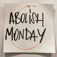 """""""Ugh! Who is with me #MondayBlues"""""""