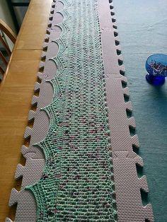 Ravelry: Ocean geometry scarf pattern by ACCROchet $ 5.00