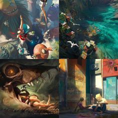 Our friend over @artofwootha is doing an amazing art print giveaway.  Go go go and sign up to win something amazing  . .  #paintingswow #artstation #cgsociety #art #conceptart #conceptdesign #gameart #illustration #digitalpainting #digitalart #digitalartist #fantasyart #imaginationarts #scifiart #artwork #digitalillustration