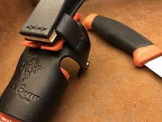 Mora Clipper Leather Handmade adapter