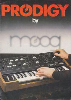 Prodigy by MOOG via Matrixsynth #synth