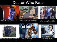 Doctor Who Fans.