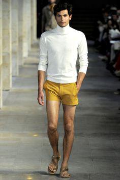 Hermès Spring 2012 Menswear Fashion Show Men's Fashion, Fashion Moda, Fashion Images, Fashion Show, Fashion Outfits, Fashion Design, Couture, Dapper, Sneakers Fashion