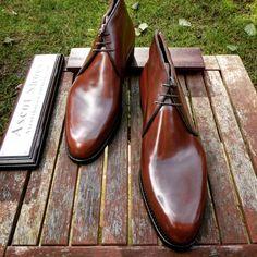 Vass Model:Chukka Ankle Boots