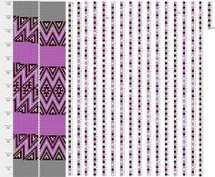 bead crochet bracelet бисерный браслет 18
