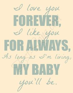I Love You Forever on an 11x14 inch canvas by EstSignsFeedsOrphans, $35.00