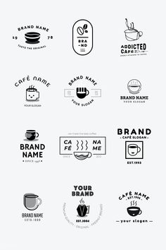 coffee icon Laden Sie den Premium-Vektor C - coffee Corporate Branding, Café Branding, Coffee Shop Branding, Coffee Shop Logo, Coffee Shop Design, Business Branding, Personal Branding, Personal Logo, Logo Café