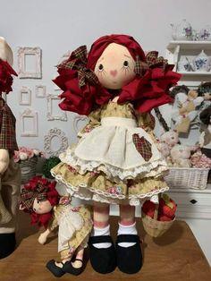 Doll Toys, Baby Dolls, Sewing Dolls, Raggedy Ann, Doll Crafts, Doll Patterns, Beautiful Dolls, Cross Stitching, Minis