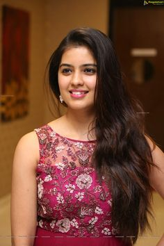 Amritha Aiyer at Kaasi Pre-Release Event (High Definition) Beautiful Girl Indian, Most Beautiful Indian Actress, Beautiful Girl Image, Beautiful Long Hair, Beautiful Women, Cute Beauty, Beauty Full Girl, Beauty Women, Beautiful Bollywood Actress
