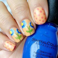 "Beauty Blog — Pame on Instagram: ""#wnac2015 cobalt and peach ..."