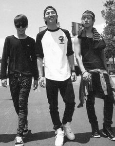 Himchan, Yongguk and Daehyun