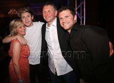 Maura, Niall, Bobby and Greg. Horan family photo! Finally.. Love this. Good lookin' bunch. ;)