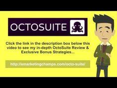 OctoSuite Review - https://www.youtube.com/watch?v=lrmiq0CbOxs  - OctoSuite Bonus