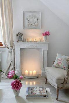 Des bougies pour décorer votre cheminées