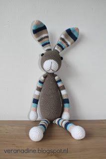 223 Beste Afbeeldingen Van Konijnen Crochet Dolls Crochet Toys En
