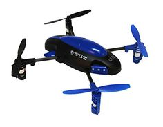"Sceek.com presents: Skybotz 4 Channel 2.4G RC Quad Copter, 6""X6""- 6 Axis - COLORS MAY VARY"