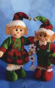 Christmas Sewing Projects, Diy And Crafts, Christmas Crafts, Christmas Decorations, Holiday Decor, Elf Christmas Tree, Holiday Ornaments, Elf Doll, Elves And Fairies