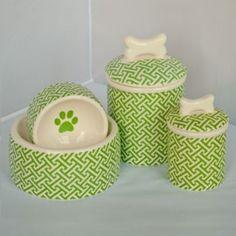 Trellis Dog Bowl Collection