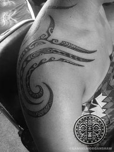 Womens' Polynesian Tattoos   South Seas Style and Custom Tattooing by Samuel Shaw