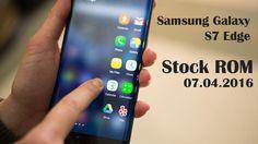 Samsung Galaxy S7 Edge Stock Rom SM-G935F ZTO, Faça o download da ROM sem logo de operadora, modelo PDA G935FXXU1APD6, CSC G935FZTO1APD6. 07/04/2016.