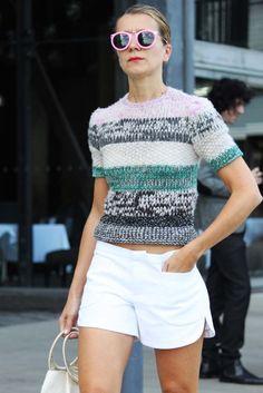 #knit #sweater #streetstyle
