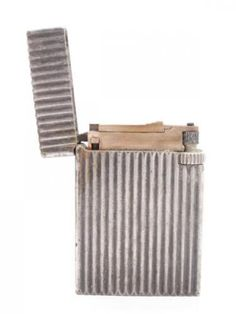 Vintage-1940s-Dupont-Paris-France-75-215-Silver-SP-Cigarette-Lighter
