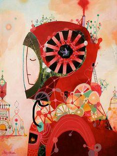 Artist painter Souther Salazar