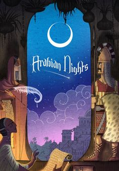 Night Illustration, Graphic Illustration, Botanical Illustration, Book Cover Art, Book Cover Design, Arabian Nights Book, Chinese Art, Chinese Painting, Disney Wallpaper