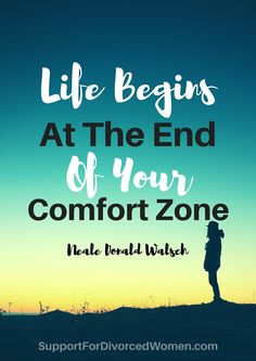 Take a leap of faith off the edge of your comfort zone... Take a chance on yourself!
