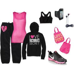 Victorias Secret active wear and Nike
