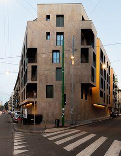 P17 Housing in Milan,© Simone Bossi