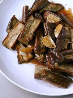 sweet garlic eggplant