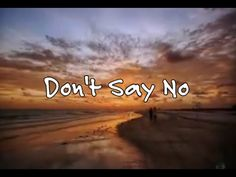 Don't Say No - The Whispers - YouTube