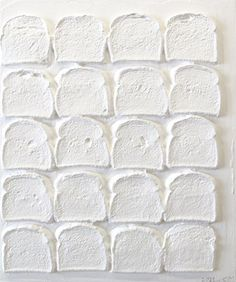 Daniel Weinberg Gallery - Artists - CHRIS MARTIN - White Bread #3