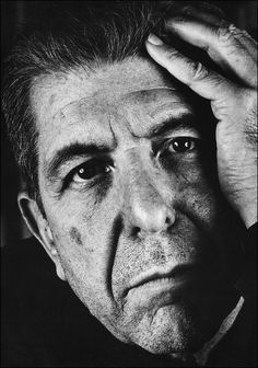Leonard Cohen Canadian singer, songwriter, poet and novelist. His work has explored religion, politics, isolation, sexuality, and personal relationships