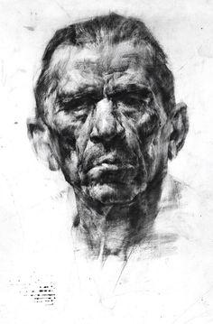 академический рисунок. портрет. графика.