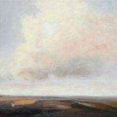 Luminous Cloud 20x20 oil on canvas  (c) jamie kirkland