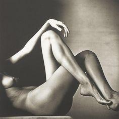 Irving Penn, Leggy Nude, New York, 1993