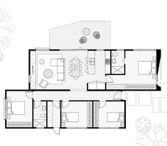 Modern Barn House, Modern House Plans, Small House Plans, Small Tiny House, Small House Design, Container House Plans, Container House Design, Best House Plans, House Floor Plans