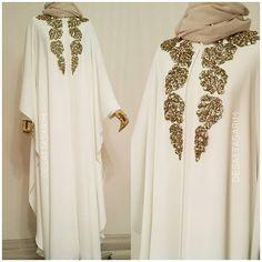 Çok sevilen işlemeli #pelerin ➡birçok rengi mevcuttur ❗Bu ürün dış kıyafeti olarak üretilmemistir. #Cilbab - larınızı üzerlerinize alınız.. Islamic Fashion, Muslim Fashion, Modest Fashion, Fashion Dresses, Mode Abaya, Mode Hijab, Niqab Fashion, Simple Gowns, Abaya Designs