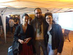 Grazia Lobascio, Presidente di Puglia Off, insieme ad Amalia Franco di Manonuda Teatro e Alberto Iurilli di SPORE Società Cooperativa. Sostieni anche tu la rete!