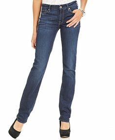 7 For All Mankind Jeans, Kimmie Straight-Leg, La Verna Lake Wash