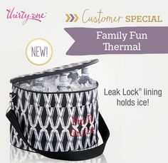 Family thermal Holds a ten pound ice & can be taken with you anywhere. 50% off with a purchase of $35 on any item #thermal #familythermal