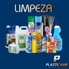 Todos os produtos de limpeza que você precisa, aqui na Plasticamp você encontra. Av. Marechal Carmona,395 Vila João Jorge Campinas-SP   Fones para contato: Loja (19)-2511-6037  Televendas (19)3237-1444.