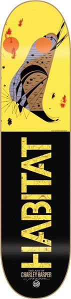 Charley Harper skateboard deck by Habitat